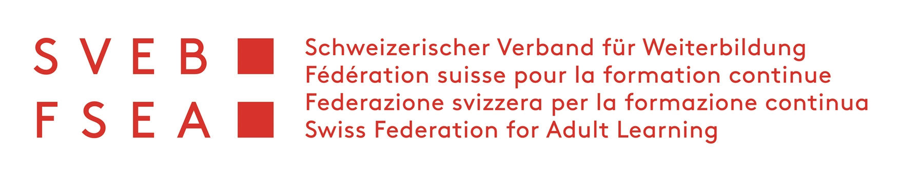 Swiss Federation of Adult Learning (SVEB) - Approved member